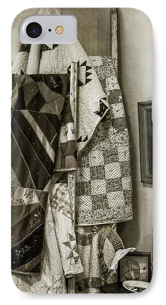 Antique Quilts IPhone Case by Wayne Meyer