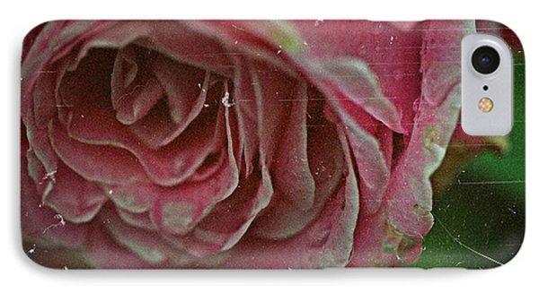 Antique Rose In Fog IPhone Case