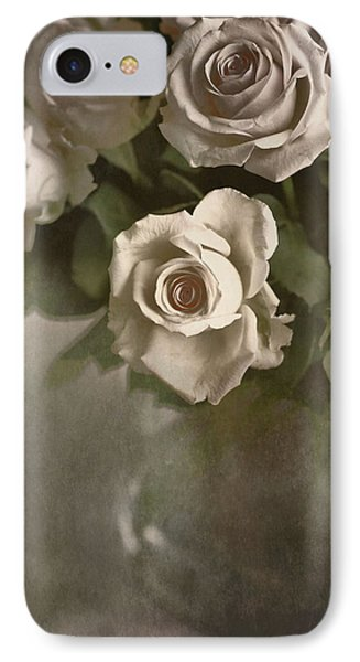 IPhone Case featuring the photograph Antique Roses by Annie Snel
