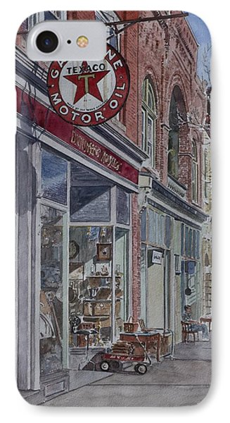 Antique Shop Beacon New York IPhone Case by Anthony Butera