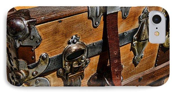 Antique Steamer Truck Detail Phone Case by Paul Ward
