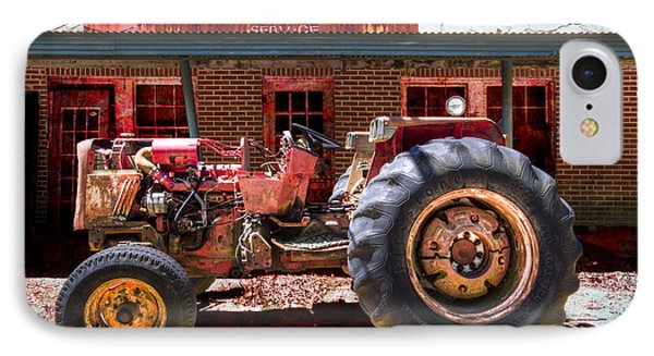 Antique Tractor Phone Case by Debra and Dave Vanderlaan