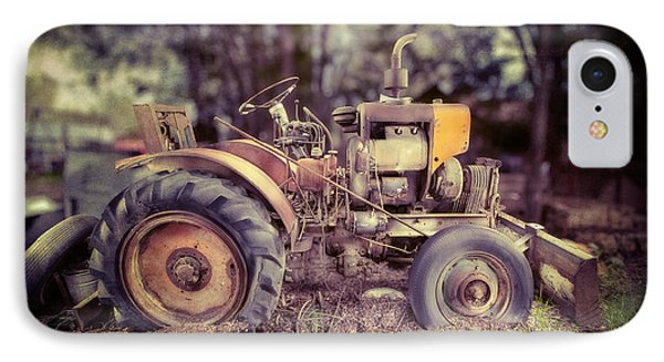 Antique Tractor Home Built IPhone Case