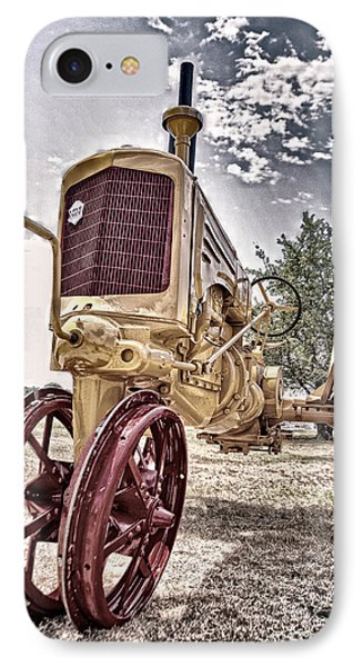Antique Tractor Phone Case by Tamyra Ayles