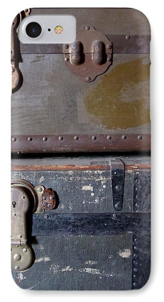 Antique Trunks 5 Phone Case by Anita Burgermeister