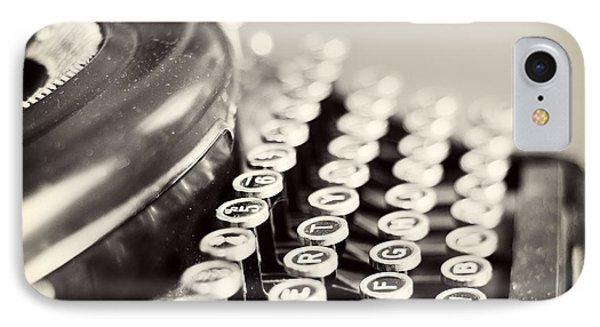 Antique Typewriter IPhone Case