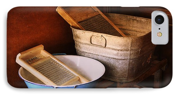 Antique Wash Tubs IPhone Case