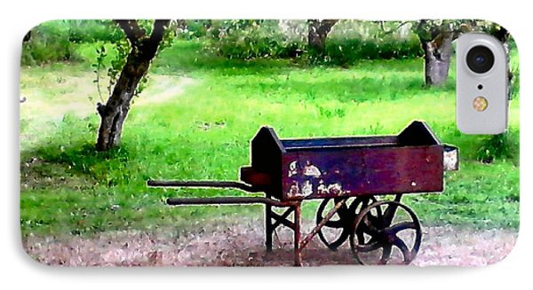 IPhone Case featuring the photograph Antique Wheelbarrow by Sadie Reneau