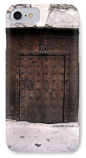 Antique Wood Door IPhone Case by Gina Dsgn
