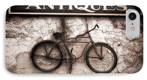 Antiques And The Old Bike Phone Case by Bob Orsillo