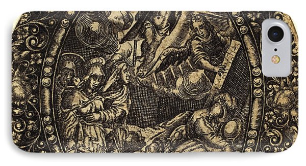 Antoine Jacquard, French Died 1652, The Resurrection IPhone Case by Litz Collection