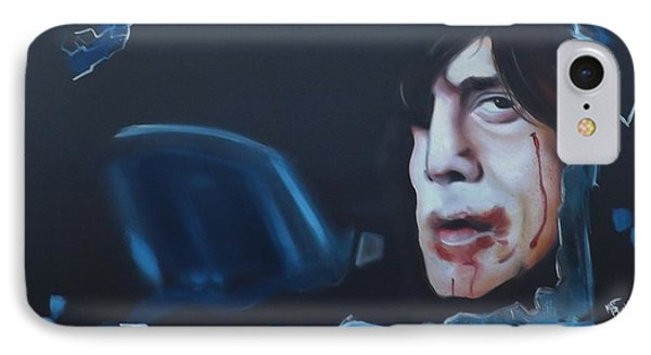Anton Chigurh No Country For Old Men IPhone Case by Matt Burke