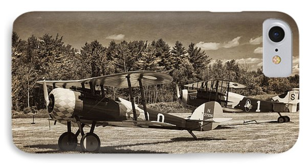Antque 1917 Nieuport 28c.1 Fighter Plane IPhone Case by Keith Webber Jr
