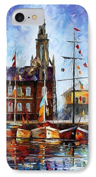 Antwerp - Belgium Phone Case by Leonid Afremov