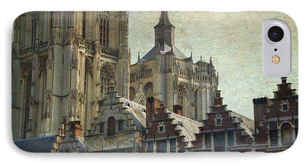 Antwerp Skyline IPhone Case