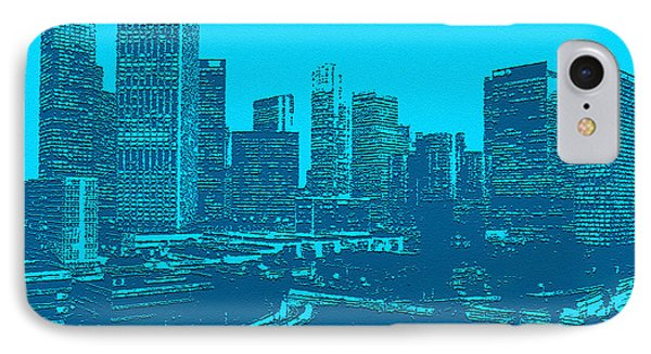 Anywhere Usa In Relief Phone Case by Bob and Nadine Johnston