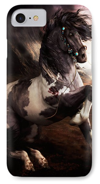 Apache Blue IPhone 7 Case by Shanina Conway
