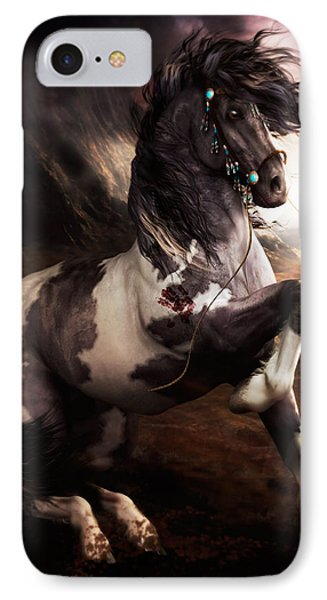 Apache Blue IPhone Case by Shanina Conway