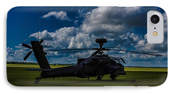 Apache Gun Ship IPhone 7 Case by Martin Newman