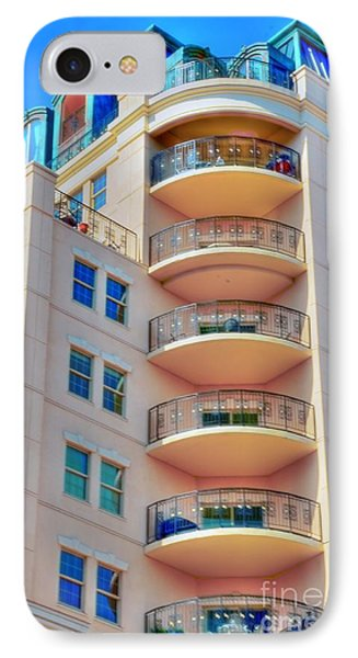 Apartment Building Phone Case by Kathleen Struckle