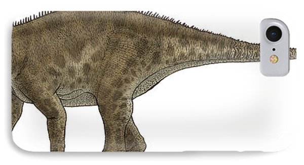 Apatosaurus, A Sauropod Dinosaur Phone Case by Vitor Silva