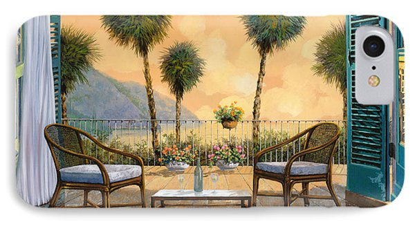 Aperitivo Al Tramonto IPhone Case by Guido Borelli