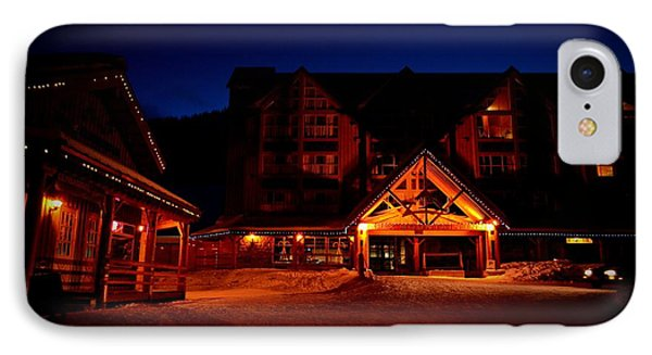Apex Mountain Ski Village IPhone Case