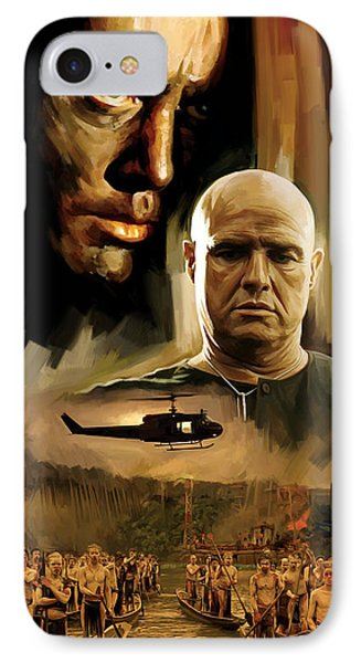 Apocalypse Now Artwork IPhone Case by Sheraz A