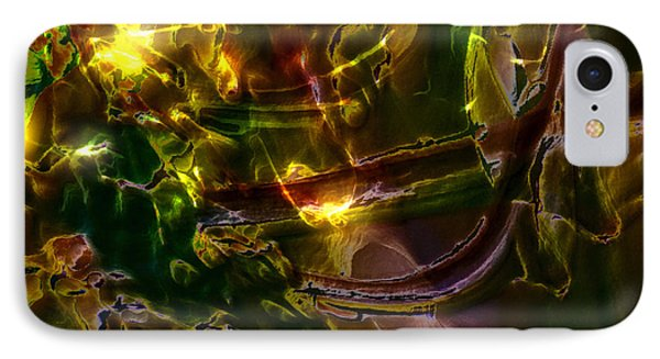 IPhone Case featuring the digital art Apocryphal - Tilting From Beastback by Richard Thomas