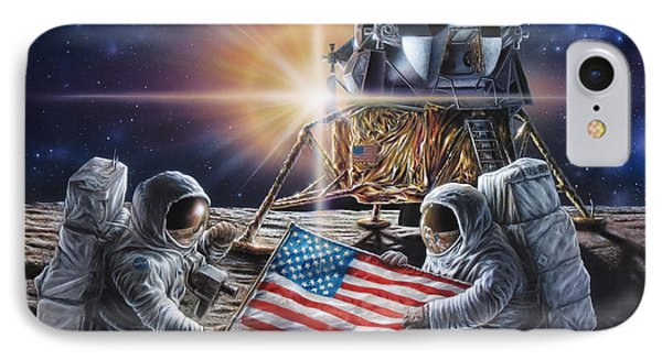 Apollo 11 IPhone Case by Don Dixon