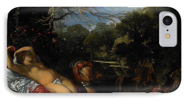 Apollo And Coronis Phone Case by Adam Elsheimer