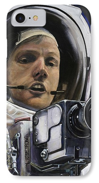 Apollo- For Mankind Phone Case by Simon Kregar
