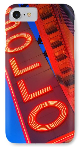 Harlem iPhone 7 Case - Apollo Nights by James Kirkikis