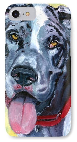 Apollo Of Dogs - Great Dane IPhone Case