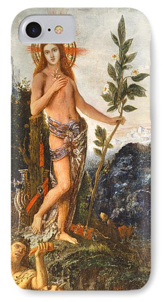 Apollo Receiving The Shepherds Offerings Phone Case by Gustave Moreau