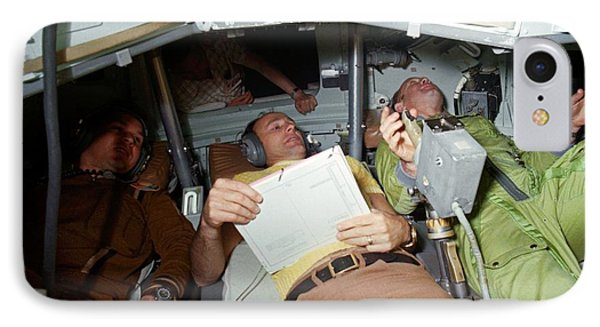 Apollo Soyuz Test Project Crew Training IPhone Case by Nasa