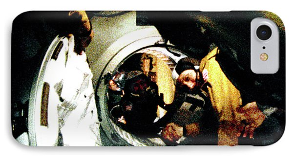 Apollo Soyuz Test Project Docking IPhone Case by Nasa