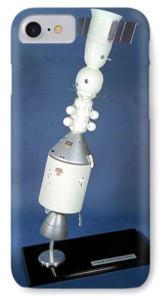 Apollo Soyuz Test Project Model IPhone Case by Nasa/glenn Research Center (nasa-grc)