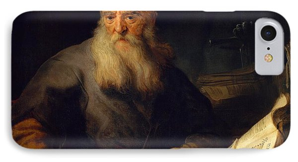 Apostle Paul IPhone Case by Rembrandt