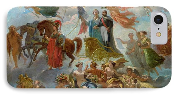 Apotheosis Of Napoleon IIi Phone Case by Guillaume-Alphonse Harang Cabasson