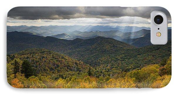 Appalachian Autumn North Carolina Fall Foliage Phone Case by Dave Allen