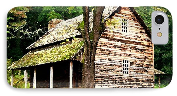Appalachian Cabin IPhone Case by Desiree Paquette