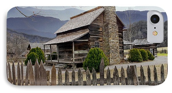 Appalachian Mountain Cabin IPhone Case