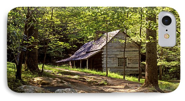 Appalachian Mountain Log Cabin Phone Case by Paul W Faust -  Impressions of Light
