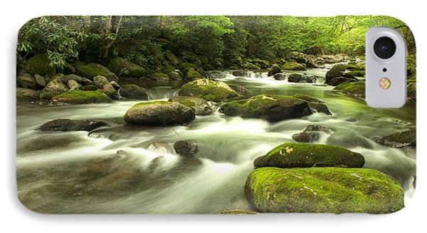 IPhone Case featuring the photograph Appalachian Spring Stream by Phyllis Peterson