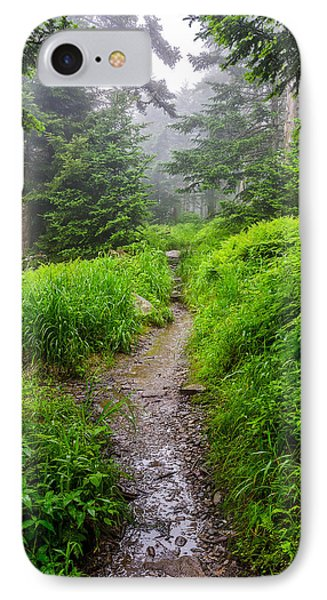 Appalachian Trail At Clingmans Dome IPhone Case