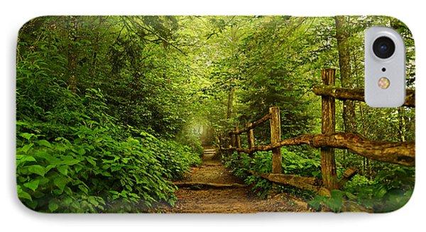 Appalachian Trail At Newfound Gap Phone Case by Stephen Stookey
