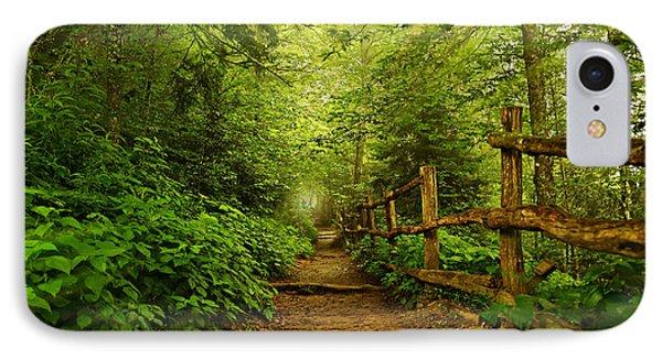 Appalachian Trail At Newfound Gap IPhone Case