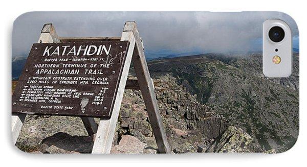 Appalachian Trail Mount Katahdin IPhone Case