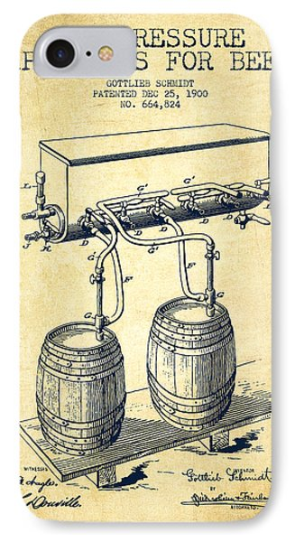 Apparatus For Beer Patent From 1900 - Vintage IPhone Case